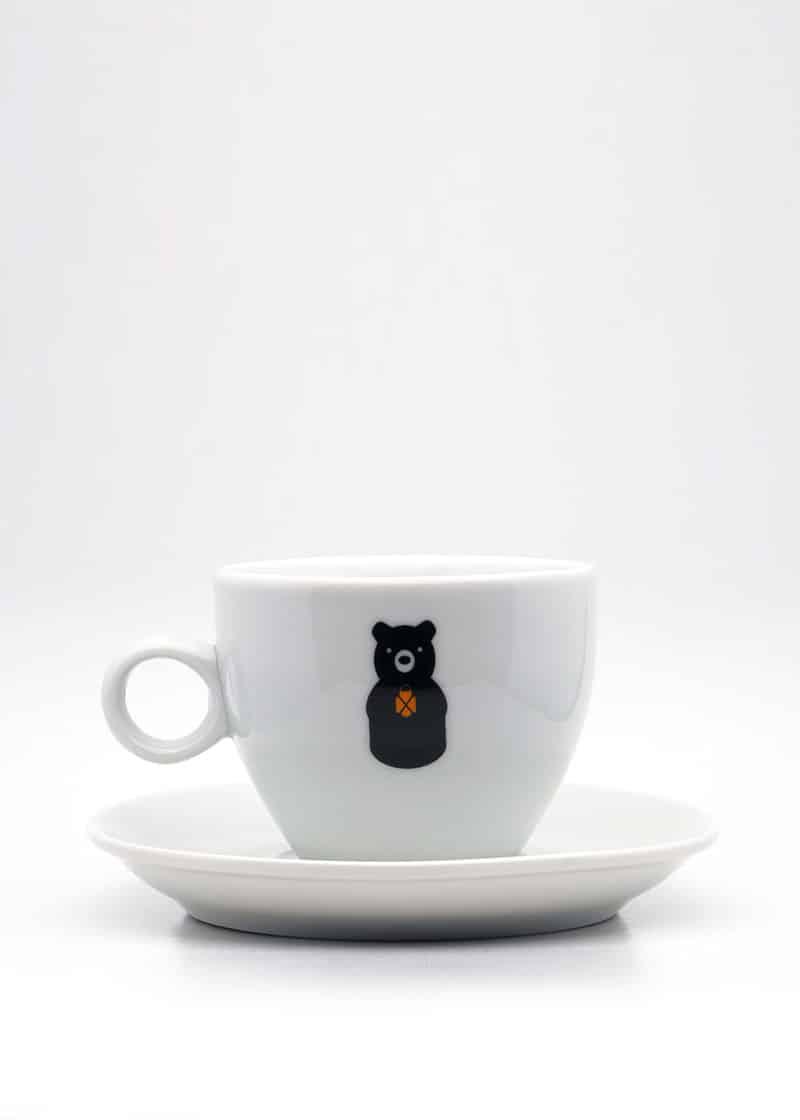Der kleine Bär Tasse