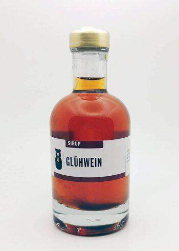 Flasche Gluehweinsirup