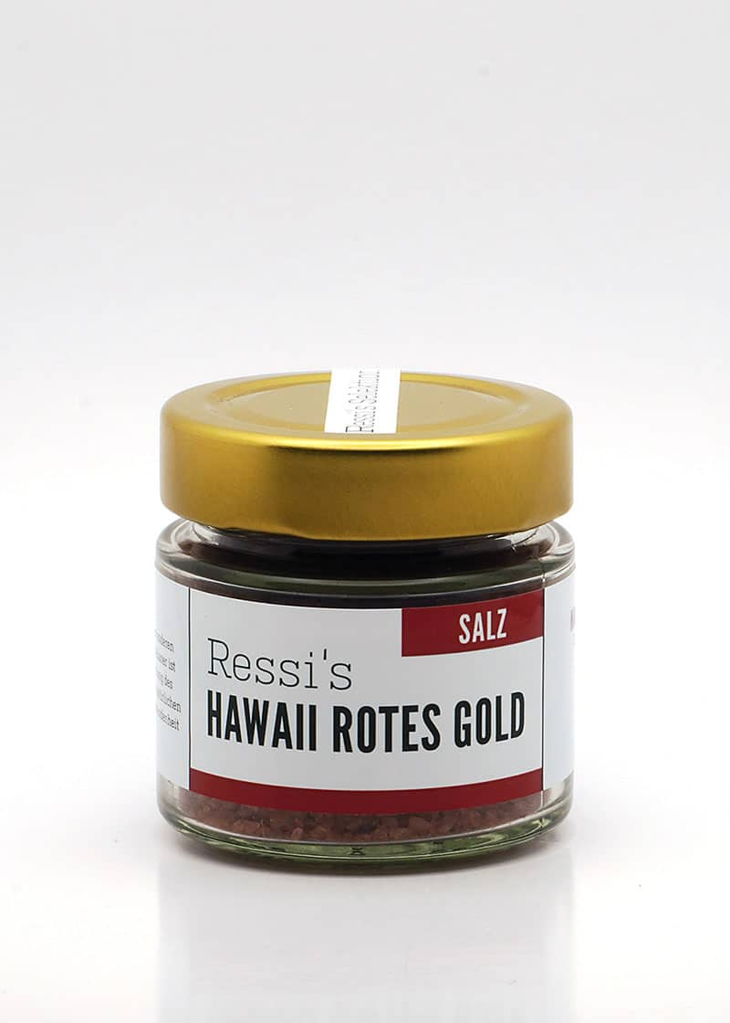 rotes Gold Salz