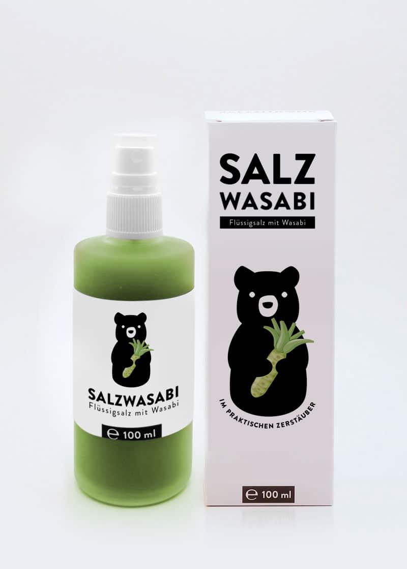 Salz-Wasabi